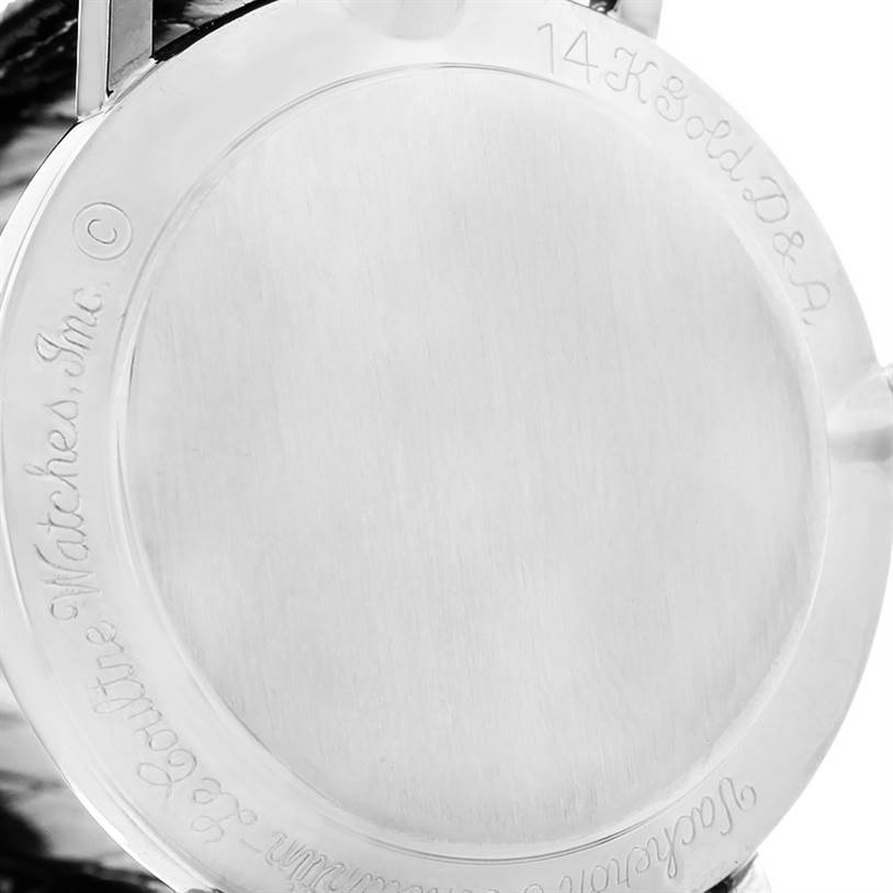 4487 Lecoultre Vacheron Constantin Galaxy Mystery Dial White Gold Diamond Watch SwissWatchExpo