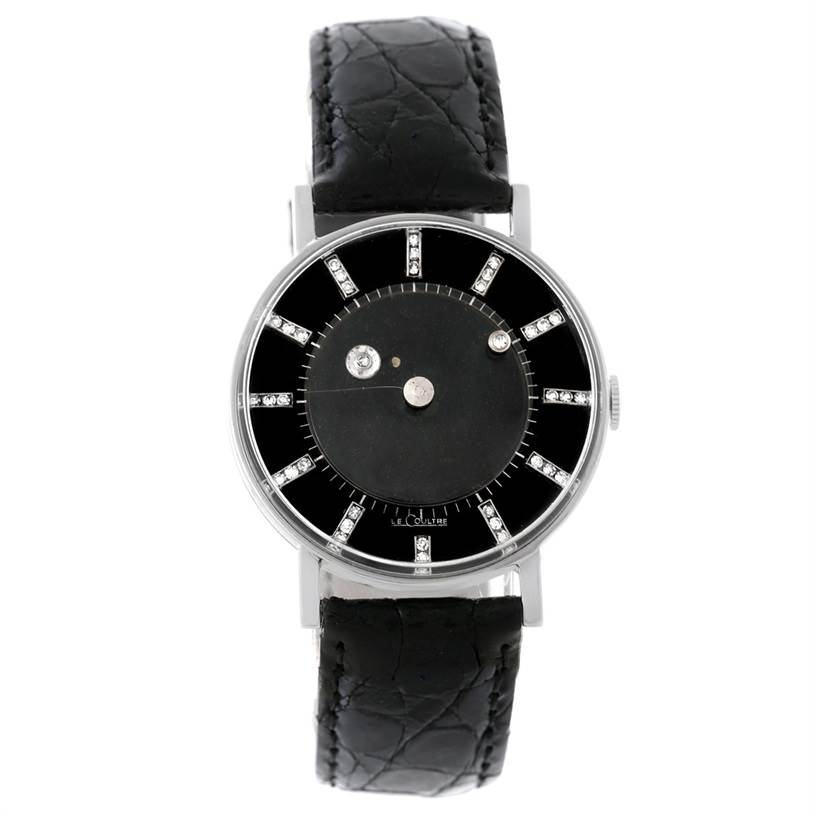 LeCoultre Diamond Watch - Jaeger - Lecoultre Watch Co ...