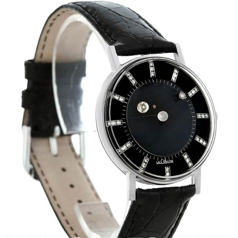 Lecoultre Vacheron Constantin Galaxy Mystery Dial White Gold Diamond Watch SwissWatchExpo