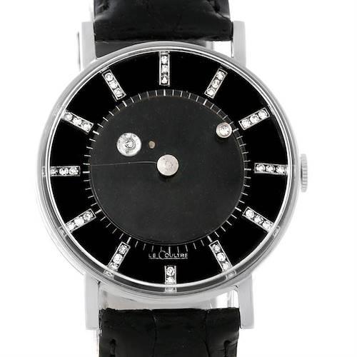 Photo of Lecoultre Vacheron Constantin Galaxy Mystery Dial White Gold Diamond Watch