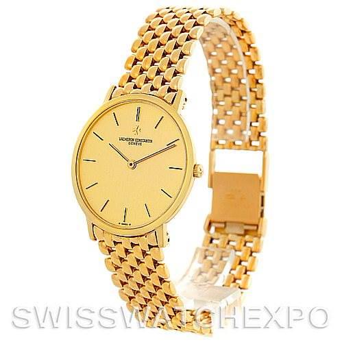Vacheron Constantin Vintage 18K Yellow Gold Watch 33003 SwissWatchExpo