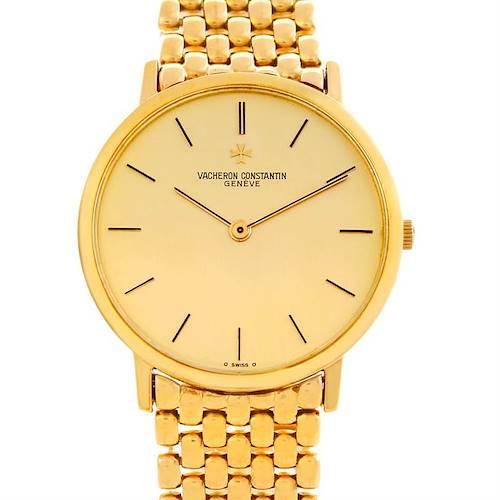 Photo of Vacheron Constantin Vintage 18K Yellow Gold Watch 33003