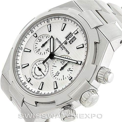 6419 Vacheron Constantin Overseas Chronograph Watch 49150 SwissWatchExpo