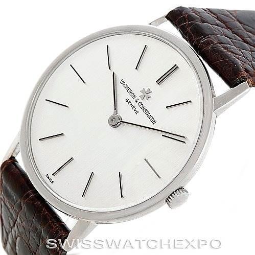 6622 Vacheron Constantin Vintage 18K White Gold Watch 7697 SwissWatchExpo