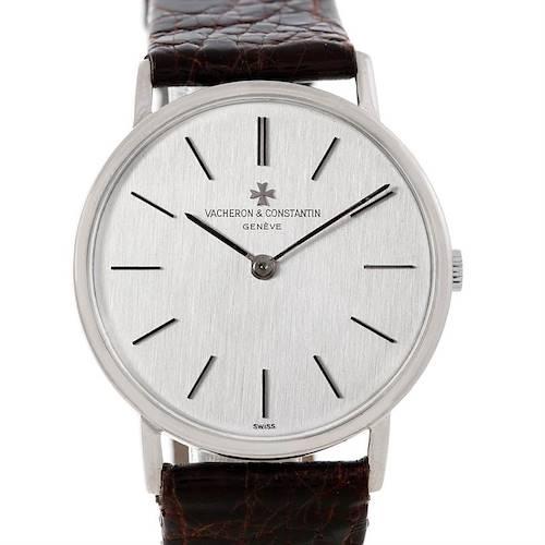Photo of Vacheron Constantin Vintage 18K White Gold Watch 7697