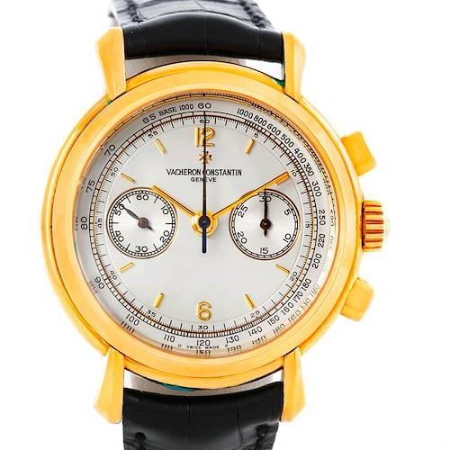 Photo of Vacheron Constantin Les Historiques 18K Yellow Gold Watch 47111 Unworn