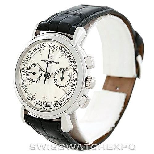 Vacheron Constantin Les Historiques Platinum Watch 47101 SwissWatchExpo