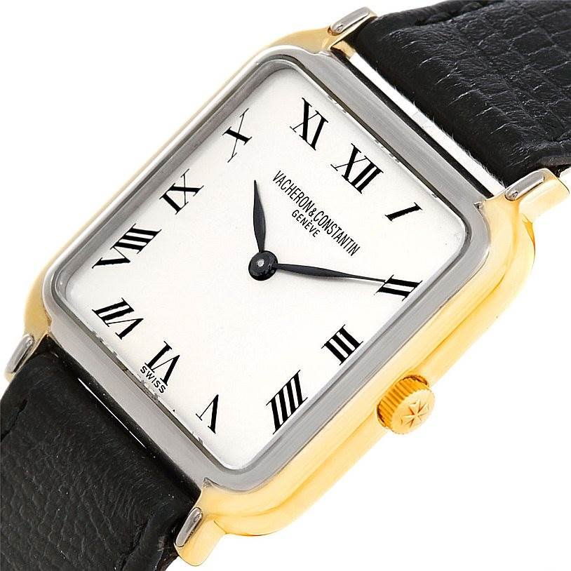 6901 Vacheron Constantin Vintage 18K White and Yellow Gold Watch SwissWatchExpo