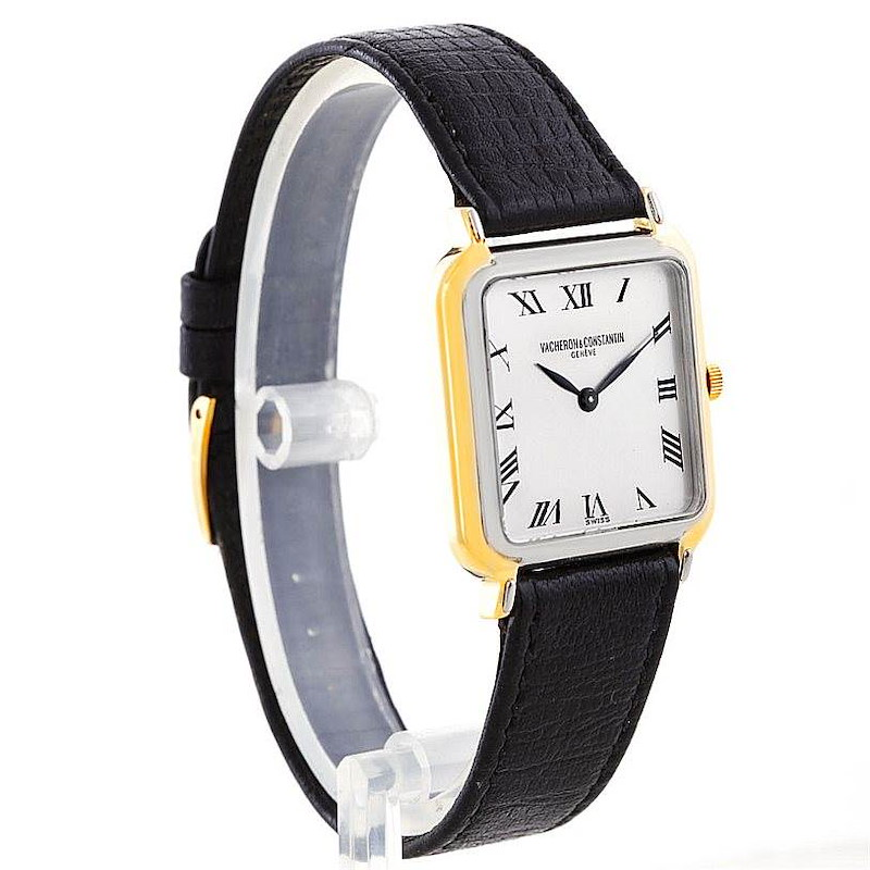 Vacheron Constantin Vintage 18K White and Yellow Gold Watch SwissWatchExpo