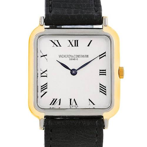 Photo of Vacheron Constantin Vintage 18K White and Yellow Gold Watch