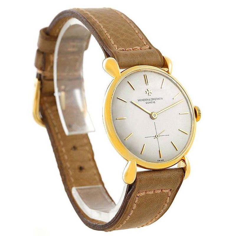 Vacheron Constantin Vintage 18K Yellow Gold Watch 4014 SwissWatchExpo
