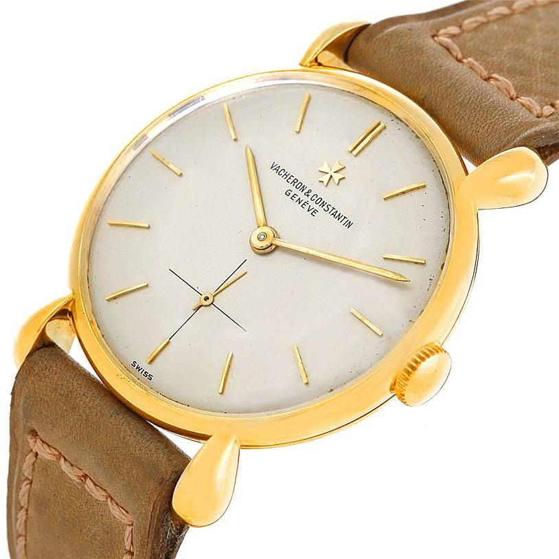 6839 Vacheron Constantin Vintage 18K Yellow Gold Watch 4014 SwissWatchExpo