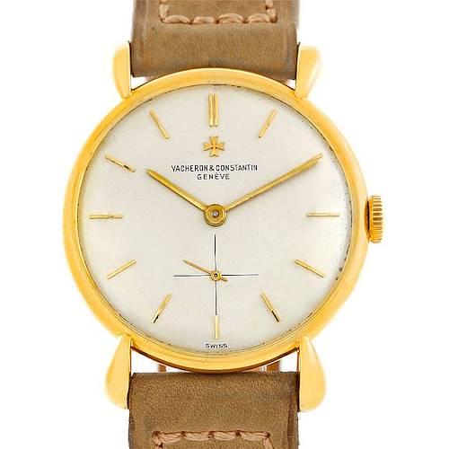 Photo of Vacheron Constantin Vintage 18K Yellow Gold Watch 4014