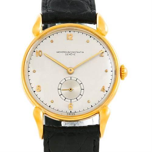Photo of Vacheron Constantin Vintage 18K Yellow Gold Watch