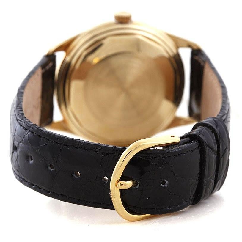 7144 Vacheron Constantin Vintage 18K Yellow Gold Automatic Watch 4870 SwissWatchExpo