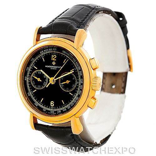 Vacheron Constantin Les Historique 18K Yellow Gold Watch 47101/4 SwissWatchExpo