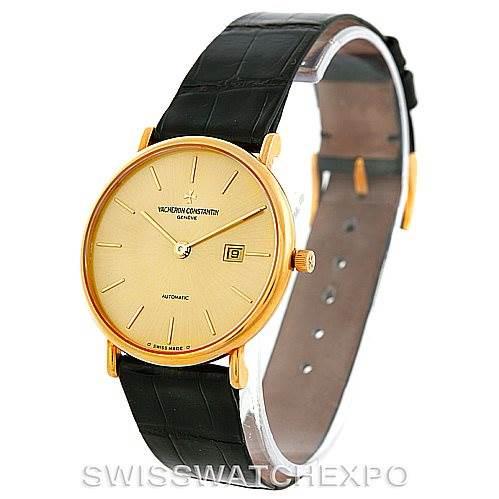 Vacheron Constantin Vintage 18K Yellow Gold Watch 48002 SwissWatchExpo