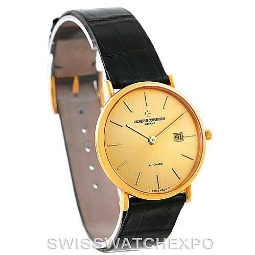 7203 Vacheron Constantin Vintage 18K Yellow Gold Watch 48002 SwissWatchExpo