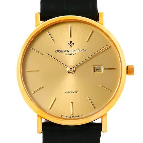 Photo of Vacheron Constantin Vintage 18K Yellow Gold Watch 48002