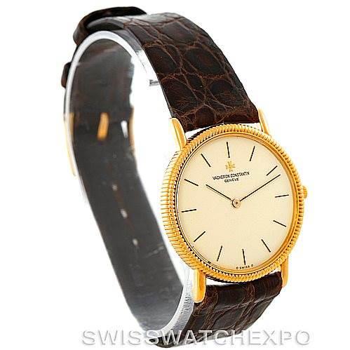 Vacheron Constantin Vintage 18K Yellow Gold Watch 33076 SwissWatchExpo