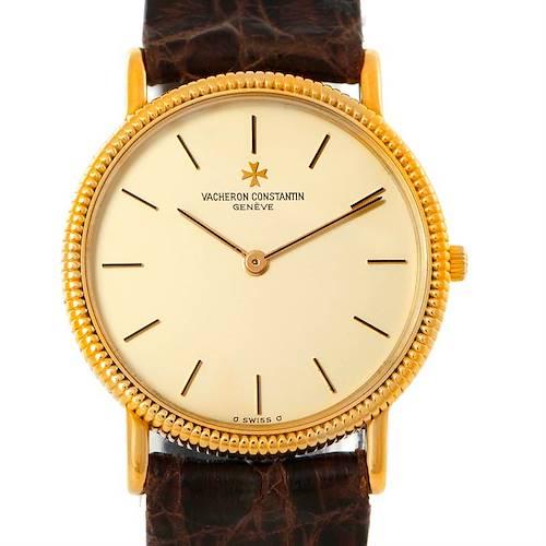 Photo of Vacheron Constantin Vintage 18K Yellow Gold Watch 33076