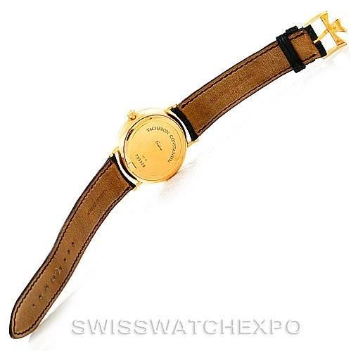 7387 Vacheron Constantin Les Essentielles 18K Yellow Gold Watch 42002 SwissWatchExpo