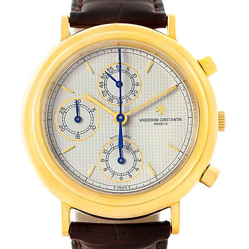 Vacheron Constantin Chronograph Automatic Yellow Gold Watch 47001 SwissWatchExpo
