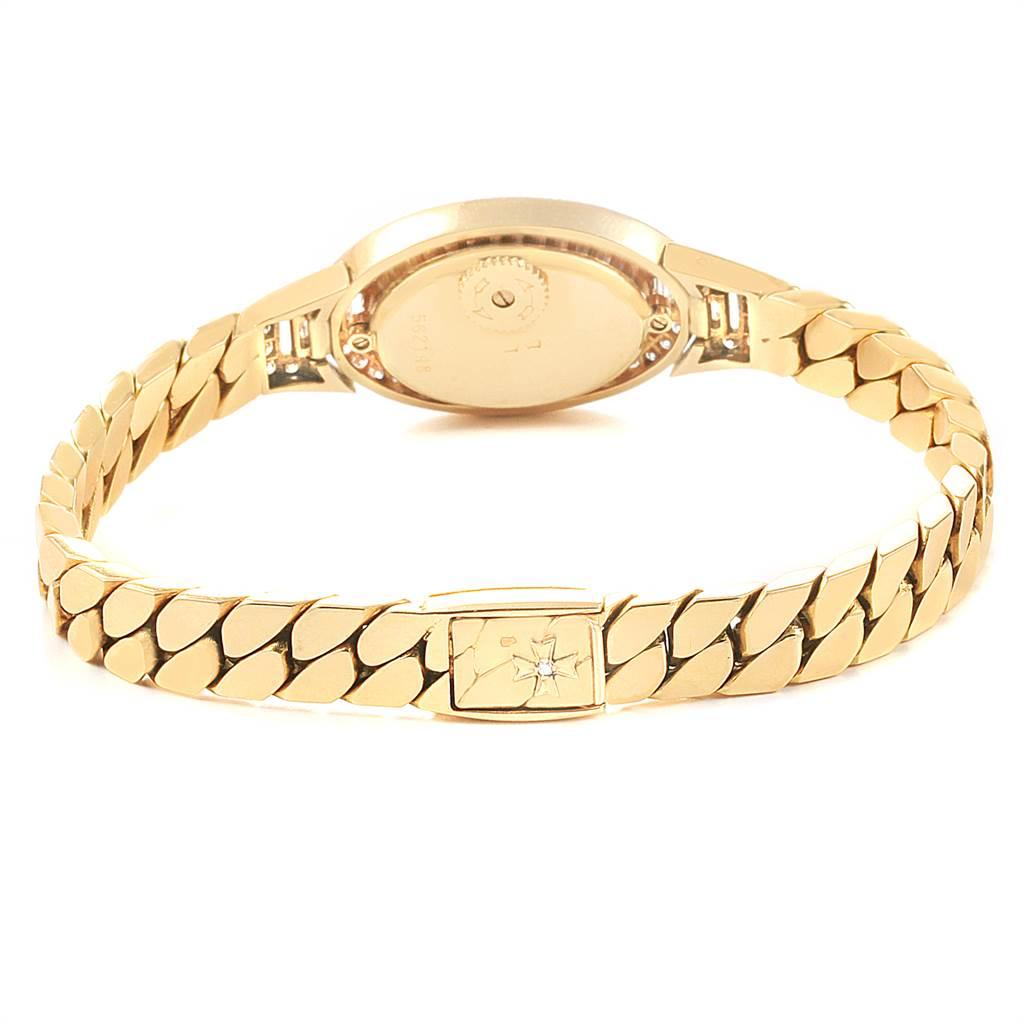 7583 Vacheron Constantin Yellow Gold Diamond Vintage Cocktail Ladies Watch SwissWatchExpo