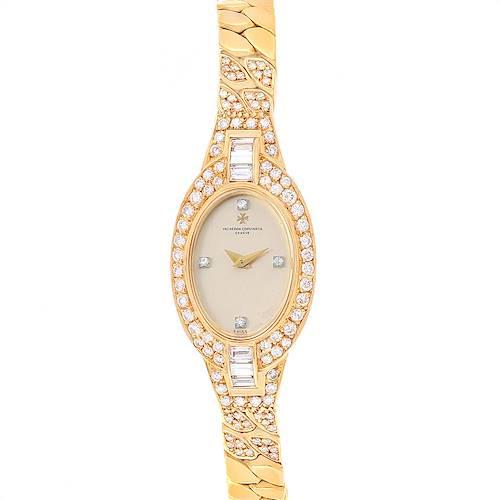 Photo of Vacheron Constantin Yellow Gold Diamond Vintage Cocktail Ladies Watch