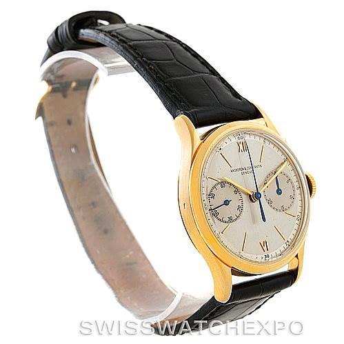 Vacheron Constantin Chronograph 18K Yellow Gold Vintage Watch SwissWatchExpo