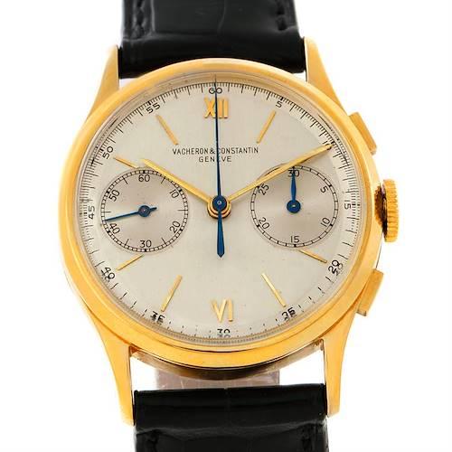 Photo of Vacheron Constantin Chronograph 18K Yellow Gold Vintage Watch