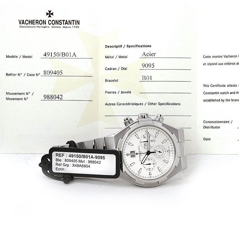 7728 Vacheron Constantin Overseas Chronograph Watch 49150 SwissWatchExpo