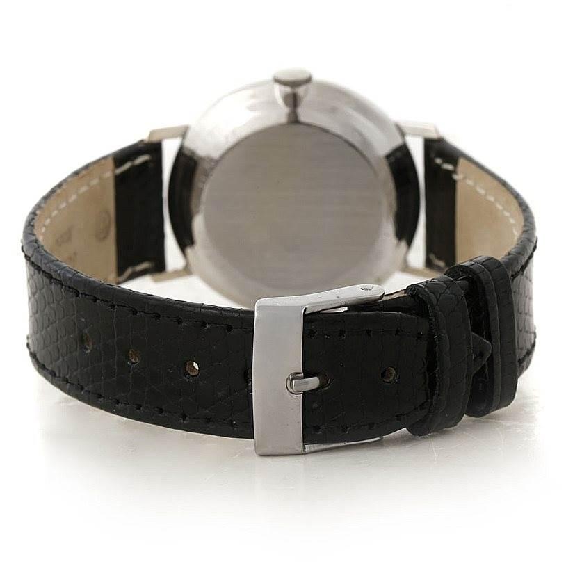 5195 Vacheron Constantin Lecoultre Mystery Dial White Gold Diamond Watch SwissWatchExpo