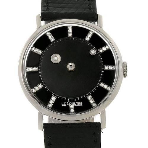 Photo of Vacheron Constantin Lecoultre Mystery Dial White Gold Diamond Watch