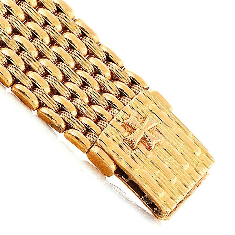 8496 Vacheron Constantin 18K Yellow Gold Diamond Watch 33593 SwissWatchExpo