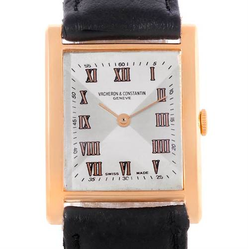 Photo of Vacheron Constantin Vintage 18K Rose Gold Mechanical Mens Watch