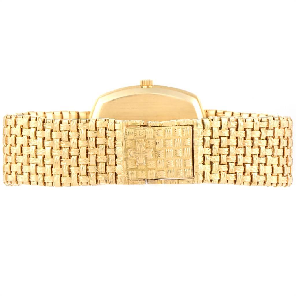 Vacheron Constantin Automatic 18K Yellow Gold Watch 7664 Box Papers SwissWatchExpo