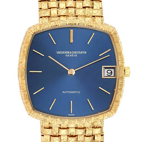 Photo of Vacheron Constantin Automatic 18K Yellow Gold Watch 7664 Box Papers