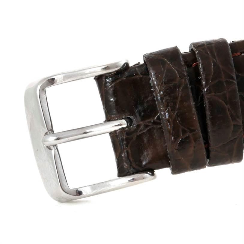 9712 Vacheron Constantin Stainless Steel Ultra Thin Mechanical Watch 39005 SwissWatchExpo