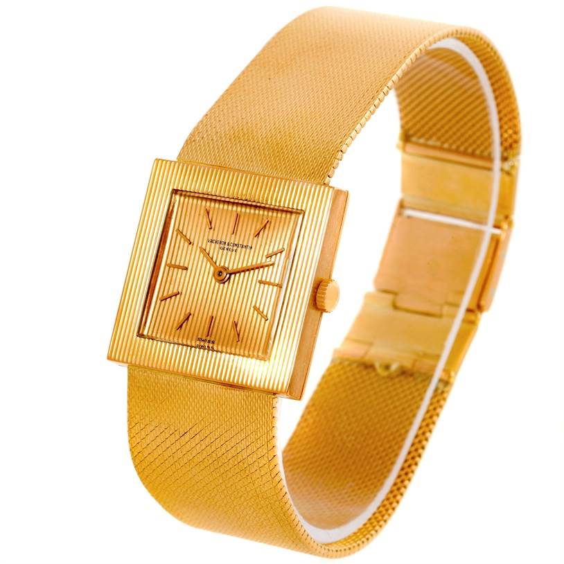 9849 Vacheron Constantin 18K Yellow Gold Mens Watch 7293 SwissWatchExpo