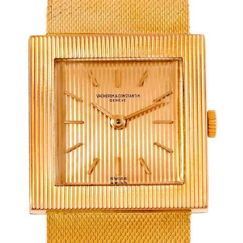 Photo of Vacheron Constantin 18K Yellow Gold Mens Watch 7293