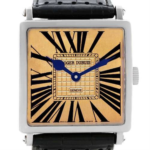 Photo of Roger Dubuis Golden Square White Gold Limited Edition Mens Watch