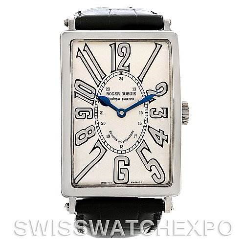 Roger Dubuis Bulletin D'Observatore18K white gold Watch 24/28 SwissWatchExpo