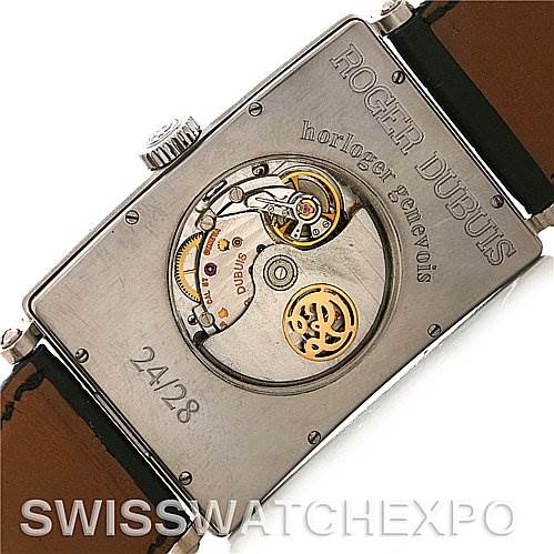 2969 Roger Dubuis Bulletin D'Observatore18K white gold Watch 24/28 SwissWatchExpo