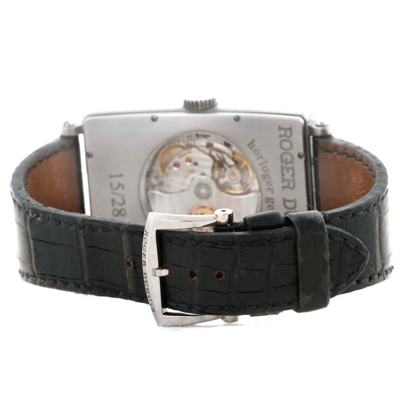 Roger Dubuis Bulletin D'Observatore 18K White Gold LE Watch 15/28 SwissWatchExpo