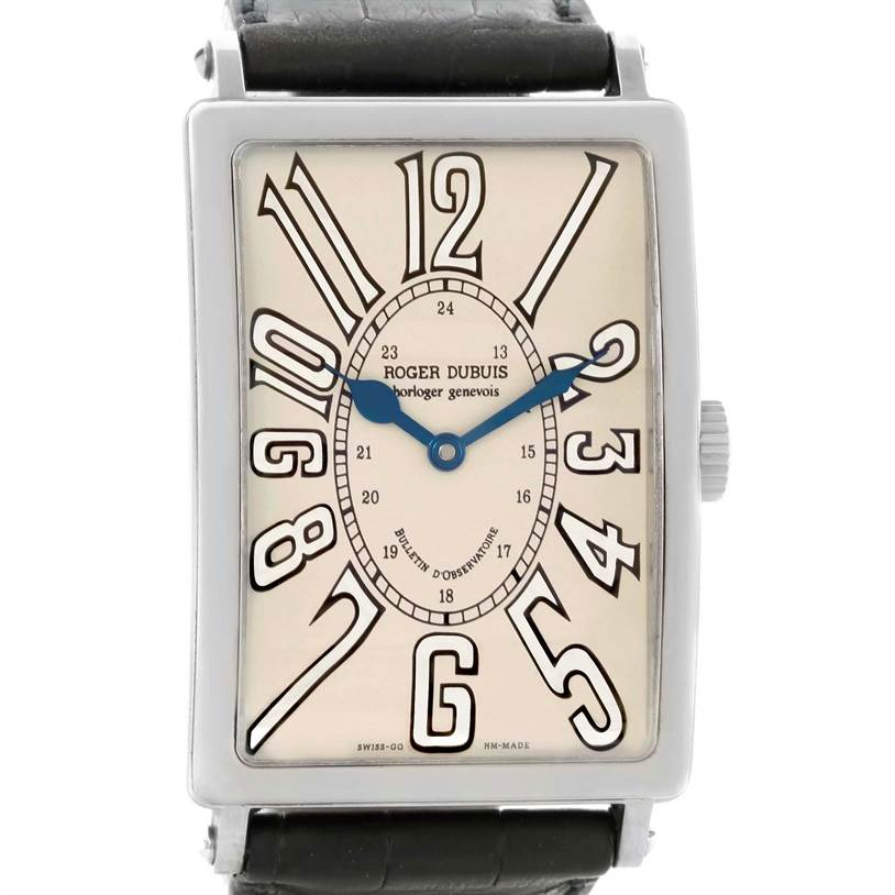 Photo of Roger Dubuis Bulletin D'Observatore 18K White Gold LE Watch 15/28
