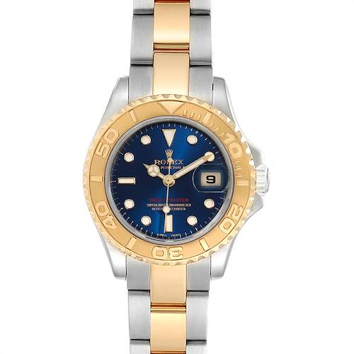 Photo of Rolex Yachtmaster 29 Steel Yellow Gold Ladies Watch 169623 Box Papers