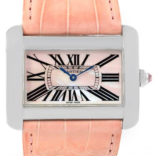 Photo of Cartier Tank Divan XL Limited Edition MOP Dial Ladies Watch W6301455