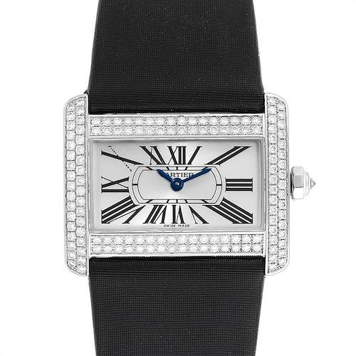 Photo of Cartier Tank Divan White Gold Diamond Ladies Watch WA301271