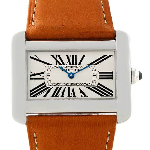 Photo of Cartier Tank Divan Large Stainless Steel Watch W6300655